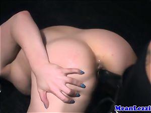 bootylicious Lucia enjoy luvs Angel Long's pink puss