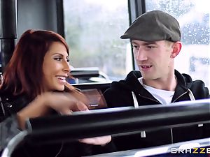 Madison Ivy and Jasmine Jae are porked on a bus
