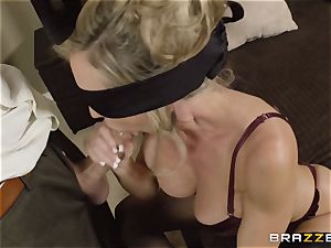 The hubby of Brandi enjoy lets her pulverize a different dude