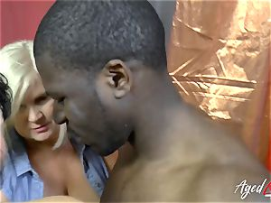 AgedLovE Lacey Starr interracial hard-core action
