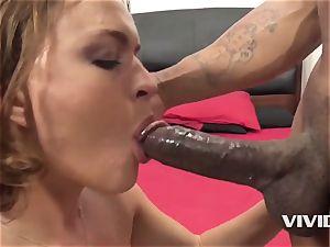 Krissy Lynn Gets A rock hard bbc In Her vulva