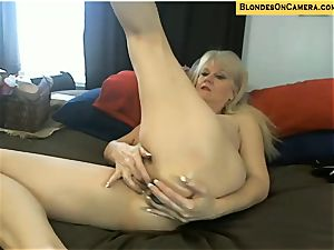 towheaded mature heads all nasty in all fuckholes on webcam
