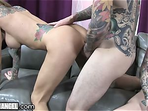 busty tatted mummy Cams With Joanna Angel