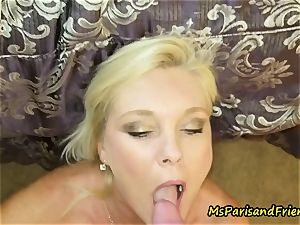 Ms Paris likes a beef whistle in Her bum