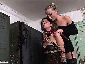 Kathia NObili tantalizing a scorching black-haired woman