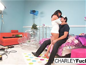 Charley haunt has some fun in this crazy three way