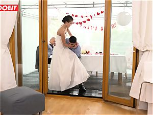 LETSDOEIT - StepMom pummels StepSon With spouse Sleeping