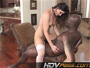 HDVPass interracial lovemaking with India Summers