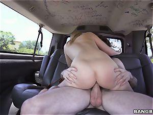 Bailey Brooke penetrated on the Bangbus