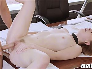 VIXEN Intern predominated By Her Father's business colleague