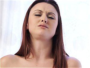 NubileFilms Deep inwards her girlfriends labia