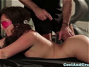 killer Maddy O'Reilly gets her ginger muff rode