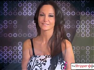 The Stripper experience- Ava Addams and get a nice plow