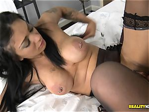 Mai Bailey pokes on camera for a saucy deal