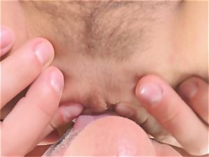 Marley Brinx pov deep throat and railing bang