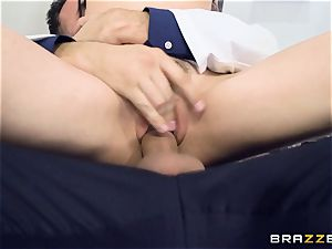 Marley Brinx gets her cunt deeply investigated at the doctors