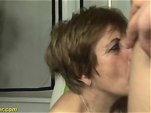 wooly grannies first porno shooting