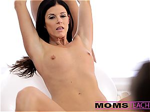 Moms instruct fuck-a-thon - stellar mother exchanges spunk with daughter-in-law