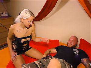 SEXTAPE GERMANY - Alternative German platinum-blonde pulverized deep