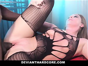 DeviantHardcore - multiracial rectal honey Gets predominated