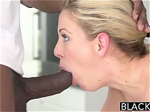 BLACKED super-fucking-hot Southern blond Takes ample dark-hued fuckpole