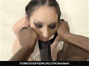 HER restrain - Arwen Gold harsh hookup with ebony boy