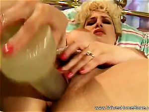 massive puffies On crazy Solo milf