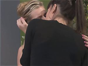 Dana DeArmond seduced by yoga teacher Sabrina Starr
