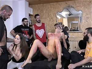 naked hoe shamed in public street