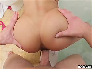 Veronica Rodriguez nailed doggy style