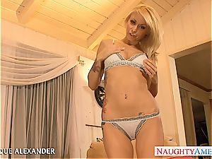 steamy porn industry star Monique Alexander fuckin'