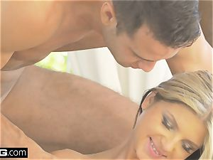 Glamkore - honey Gina Gerson in sumptuous double penetration session