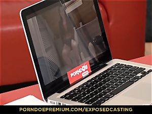 revealed audition - Taissia Shanti plowed rock hard in her bum