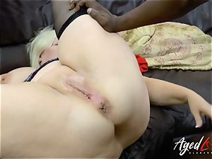 AgedLovE Lacey Starr interracial hard-core anal