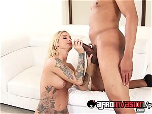 Kleio humped her black step step-brother