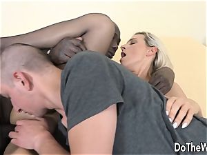 Bianca Ferreros butthole is ruined with black man rod