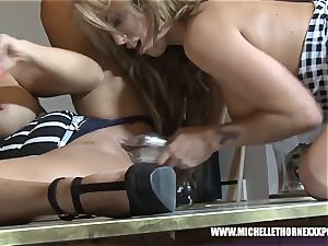 blondie huge-boobed backside gobble lezzie broads pounding ample playthings