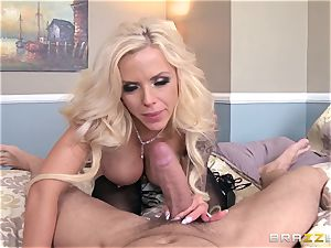 web cam chick Nina Elle caught by her stepson