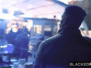 BLACKEDRAW horny Model Meets bbc and Gets predominated