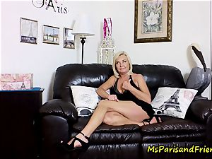 jizm on Mommy's mammories with Ms Paris Rose