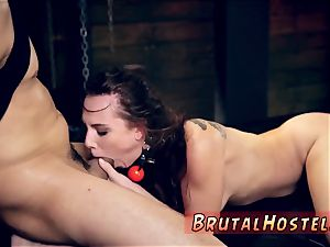 dual finished dildo restrain bondage and aggressive bday greatest buddies Aidra Fox and Kharlie Stone are