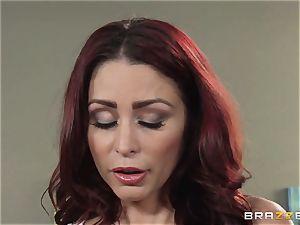 wife Lezley Zen gets revenge on jaw-dropping massagist Monique Alexander