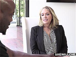 SHEWILLCHEAT - ultra-kinky Real Estate Agent humps bbc