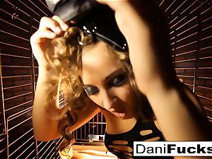 Dani Daniels A trapped super-bitch inside A Dog cell