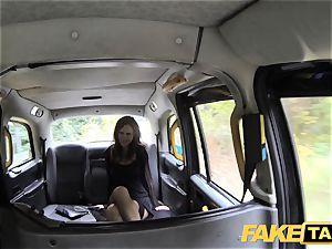 fake taxi Posh dolls swollen snatch and rump ravaged
