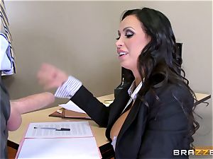 super-hot lawyer Nikki Benz getting romped by a ample fuck-stick