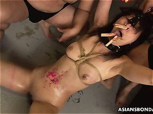 She never had a domination & submission session like this before