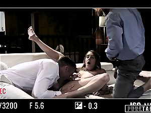 pure TABOO babe Tricked Into vengeance threeway with Strangers