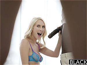 pallid blondes share a humungous black manhood