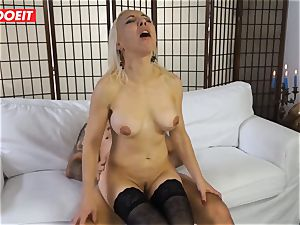 super-fucking-hot cougar gets drilled hard-core in first time casting